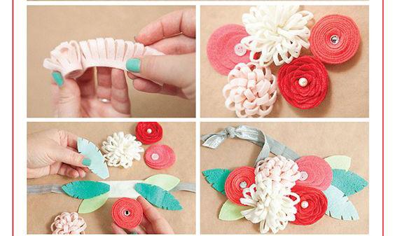 Sau khi cắt tạo hình các bạn hãy tạo hình cho các bông hoa và sắp xếp giống hình mình đặt trên hình. Các bạn hãy thử xem sao nha