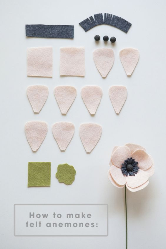 Đầu tiên, cắt các cánh hoa như hình Sau đó viên tròn giấy làm nhụy Cắt tua tạo nhụy cùng màu với viên nhụy nha các bạn Đừng quên tạo cuống hoa bằng giấy màu xanh lá  Còn thân bạn có thể cắt giấy xốp thành 1 đường thằng nhỏ xinh. Sau đó xếp cánh hoa so le nhau tạo như hình Xếp lần lượt nha bạn, từ nhụy tròn, tua nhụy cho đến cánh hoa và cuống hoa Vậy là bạn đã có  sản phẩm là bông hoa gắn tường trang trí rồi đó. Chúc các bạn thành công