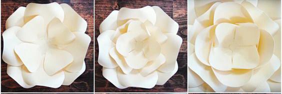 bạn thấy đó, cứ như vậy chúng ta sẽ có bông hoa giấy để trang trí tiệc cưới rồi. Chúc các bạn thành công với hướng dẫn cách làm hoa giấy trang trí tiệc cưới nha.