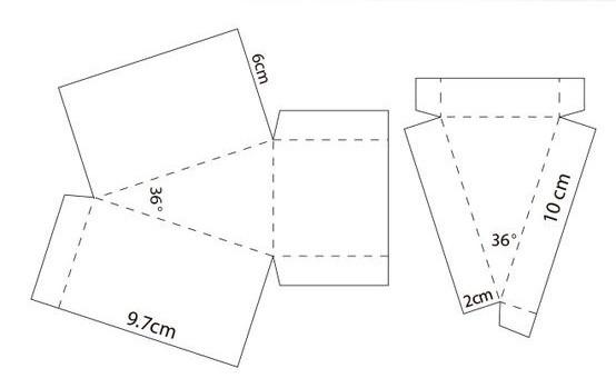 thiết kế mẫu hộp và nắp hộp đựng piza