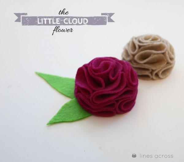 với mỗi màu khác nhau ta sẽ có một bông hoa khác. như vậy là ta đã có một bông hoa mây tuyệt đẹp rồi. chúc các bạn thành công nha.