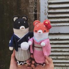 Móc Cặp đôi Nhật Bổn🌸 •ShiBaO-ShiBaCo🦊