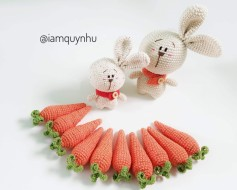 Thỏ bún lèo🐰 cùng cà rốt