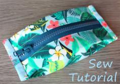 Cách làm chiếc ví nhỏ xinh đựng chìa khóa hoặc móc treo