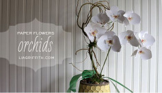 Cách làm giỏ hoa lan giống thật 100% mà dễ làm