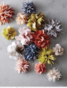 Cách tự làm hoa bằng vải dễ thương
