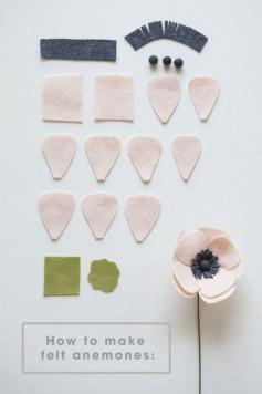 Hướng dẫn cách làm bông hoa dán tường chi phí cực rẻ