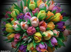 Hướng dẫn Cách làm hoa từ giấy nhún độc lạ.
