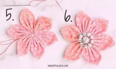 Hướng dẫn cách làm hoa vải cực kỳ đơn giản với 4 bước