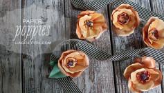Hướng dẫn làm bông hoa Anh Túc đơn giản