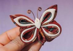 Hướng dẫn làm con bướm từ vải thô tuyệt đẹp