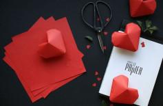 Hướng dẫn gấp trái tim từ giấy tuyệt đẹp